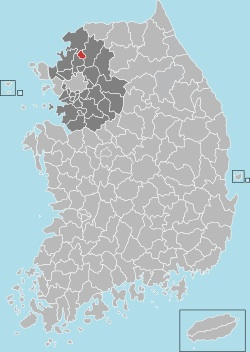 Dongducheon map 001