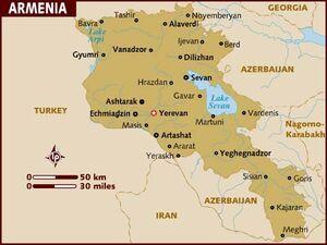 Armenia map 001