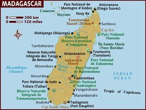 Madagascar map 001