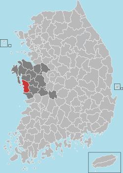 Boryeong map 001