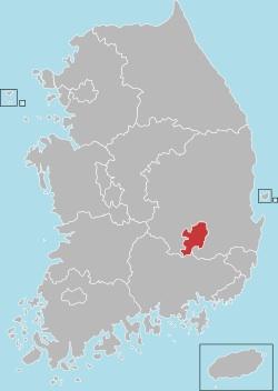 Daegu map 001
