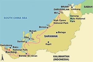 Sarawak map 001