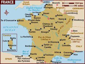France Map 001