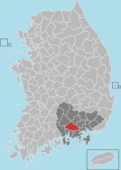 Jinju map 001