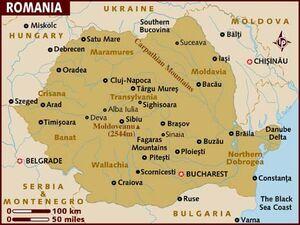 Romania map 001