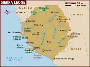 Sierra Leone map 001