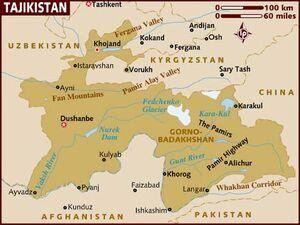 Tajikistan map 001