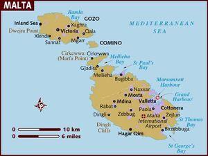 Malta map 001