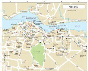 Kuching Map 001
