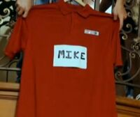 Mike's shirt