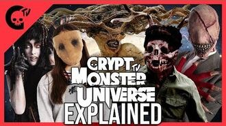 CRYPT MONSTER UNIVERSE EXPLAINED **HUGE ANNOUNCEMENTS** - Crypt TV