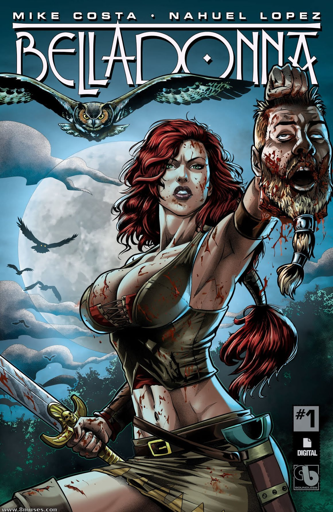 belladonna (avatar press/boundless comics) | top-strongest wikia