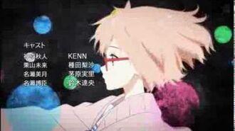 Kyoukai no Kanata Ending Full