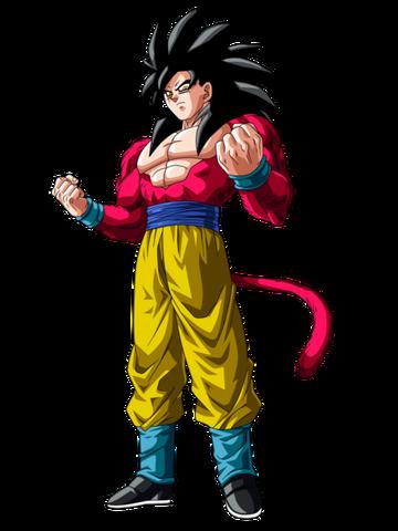 File:Goku Ssj4 superando a todos los saiyajines by Luis Gohan917.png