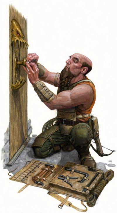 Dwarf lockpick