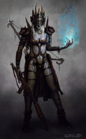 File:Dark elf psycic by kennethfairclough-d3g7e9h.jpg