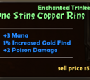 One Sting Copper Ring