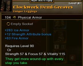Clockwork Demi-G