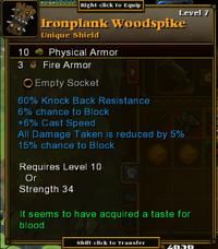 IronplankWoodspike