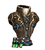 Armor leather vest