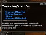 Tanwanteng's Left Eye