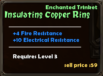 Insulating Copper Ring Details