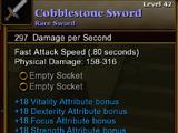 Cobblestone Sword