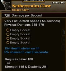 Netherealm Claw