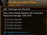 Netherrealm Claw