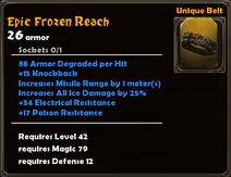 Epic Frozen Reach