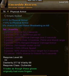 Unearthly Bracers