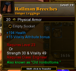 Railman breeches