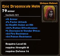 Epic Dragonscale Helm