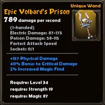 Epic Volbard's Prison