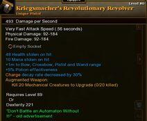 Kriegs Revolutionary 01