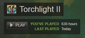 Torchlight 2 playtime
