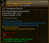 The Emperor's Wrath