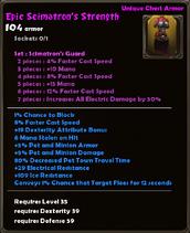 Epic Scimatron's Strength
