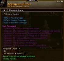 Argonaut Gloves