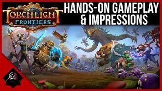 Torchlight Frontiers - Hands-On Gameplay & Impressions (Gamescom 2018)