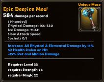 Epic Deepice Maul