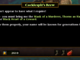 Cacklespit's Brew