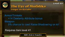 Eye of Marishka