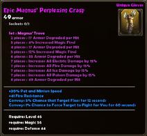 Epic Magnus' Perplexing Grasp
