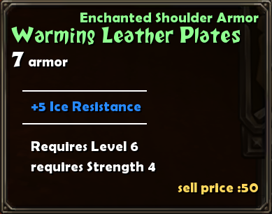 Warming Leather Plates Details
