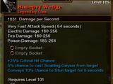 Bonepry Wedge