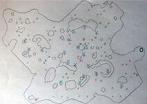 Karte gebiet