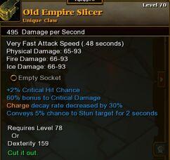Old Empire Slicer