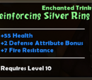 Reinforcing Silver Ring