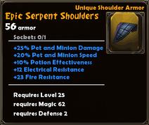 Epic Serpent Shoulders